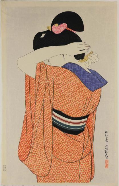 Ukiyo-e | KMKG #estampe #japan #kimono