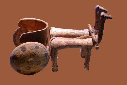 812d3 chariot mycénien (région de Larissa, 13e s.)