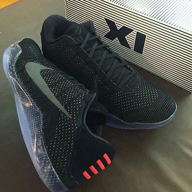 """Nike Kobe 11 """"Black Space""""  Release: October 4th Price: $200"""