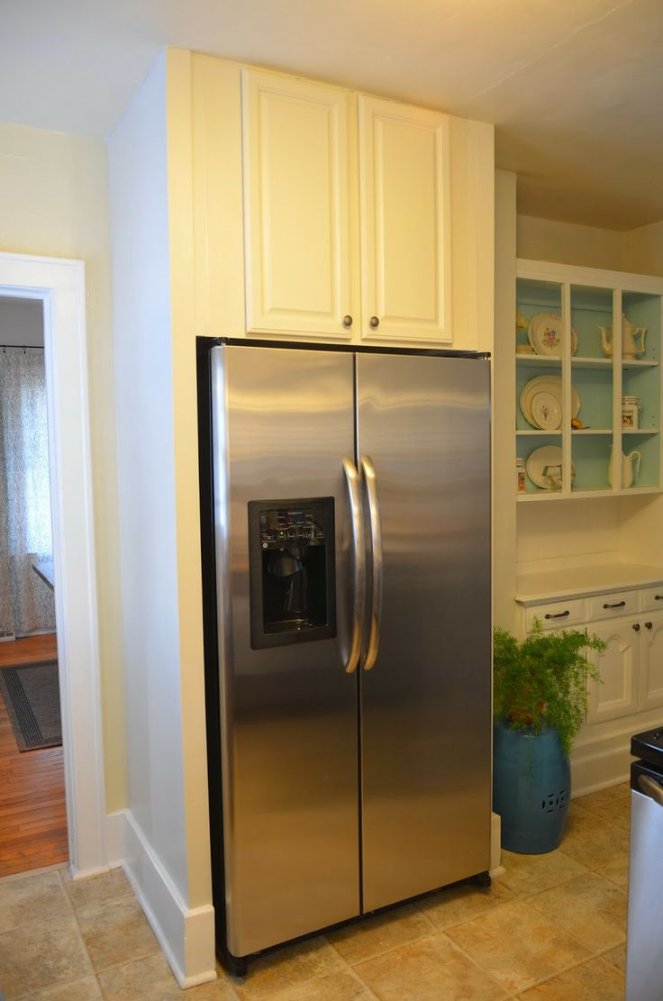 Best 25 Built In Refrigerator Ideas On Pinterest Corner