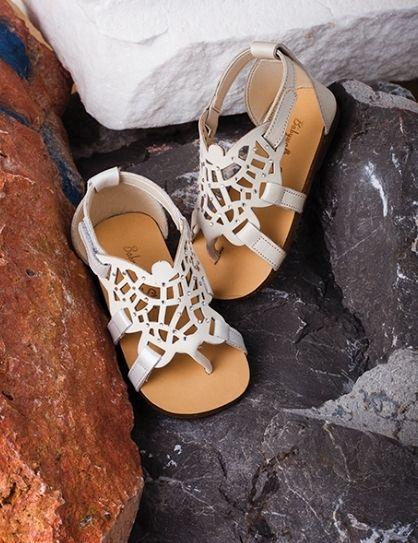 Crystal sandal SS2015 by BABYWALKER..