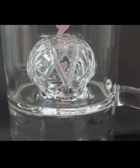 Molino Glass percolator glass bong