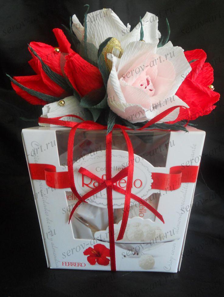 как украсить коробку конфет рафаэлло своими руками: 24 тыс изображений найдено в Яндекс.Картинках