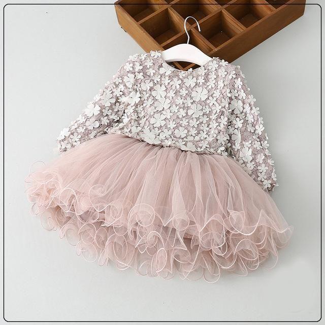 Rose Gold Tulle Dress