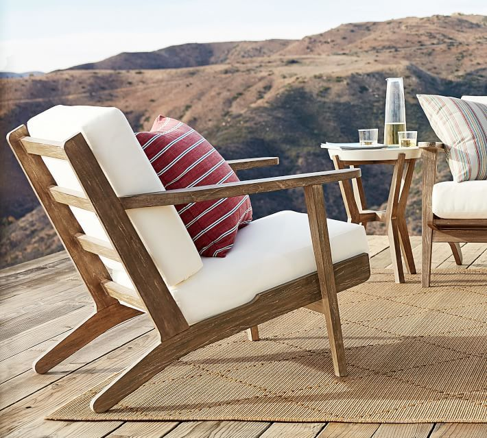 Raylan Teak Outdoor Lounge Chair In 2020 Outdoor Furniture Outdoor Chairs Occasional Chairs