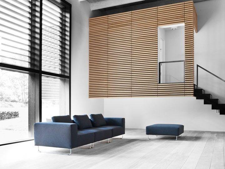 OHIO Lounge Sofa Modulsofa Mittelteil Softline Filz