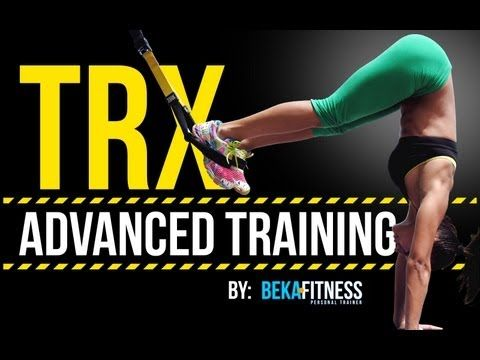 TRX Advanced Fitness Workout kijk ook op http://pinterest.com/nojoke57/trx-suspension-training/
