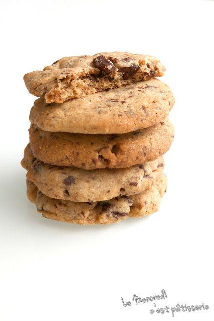 Le mercredi c'est pâtisserie: Cookies de Philippe Conticini