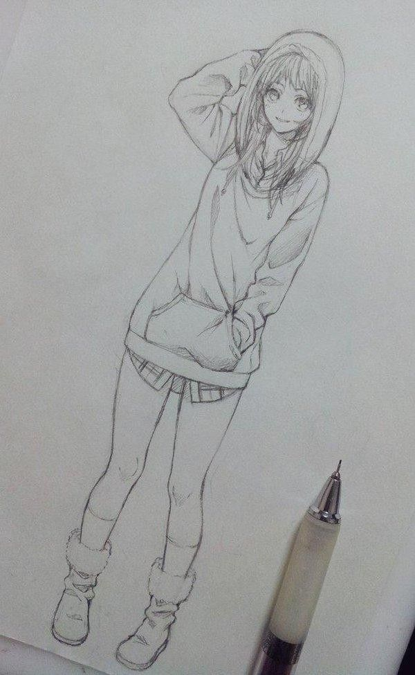 #Dessin au #Crayon porte-mine de tokki_517 #Manga
