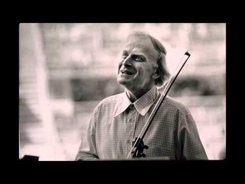 Yehudi Menuhin, violin   1944, Bartok Romanian Folk Dances