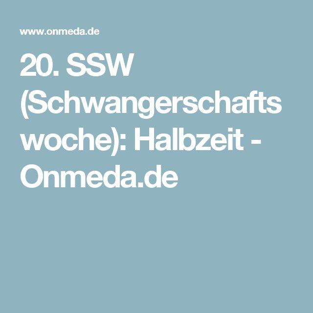 20. SSW (Schwangerschaftswoche): Halbzeit - Onmeda.de