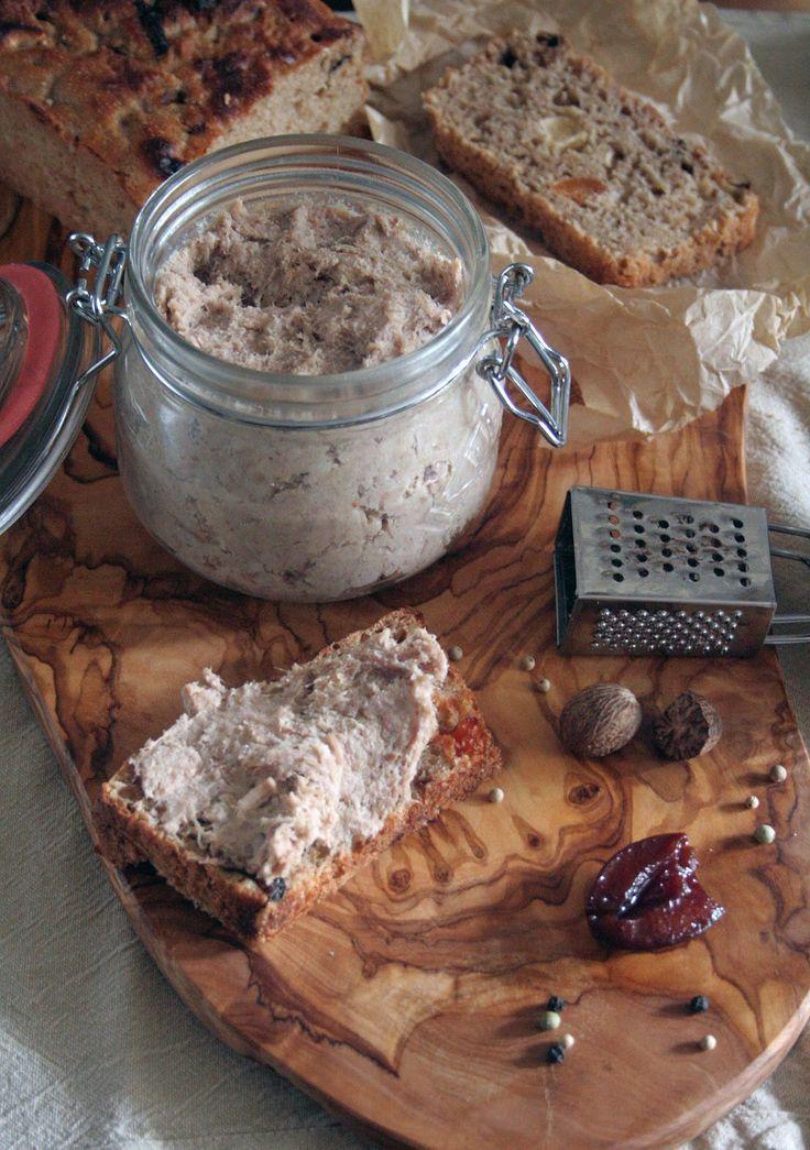 .: Francuskie smaki na jesień czyli rillettes i śliwki słodko kwaśne.