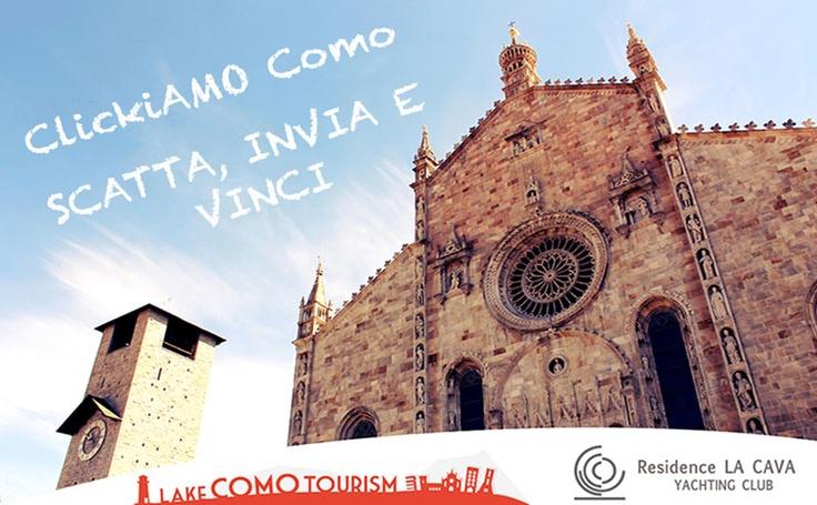 è iniziato il Contest Fotografico by #lakecomotourism ! Partecipate in tanti e #ClickiAMOComo