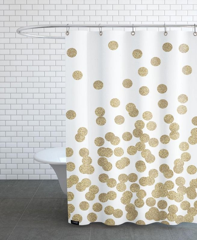 Die besten 25 goldener duschvorhang ideen auf pinterest for Coole duschvorha nge