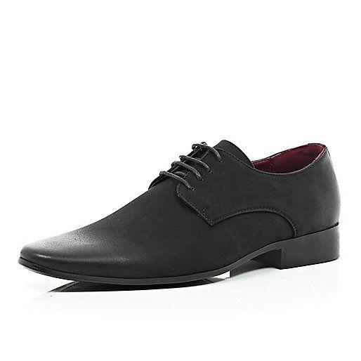 Nette zwarte schoenen met puntneus - nette schoenen - schoenen / laarzen - heren