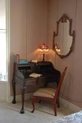 Victoria's writing desk.