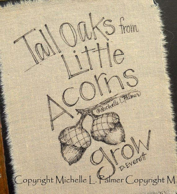 Acorn Tall Oaks from Little Acorns Grow original by MichellePalmer