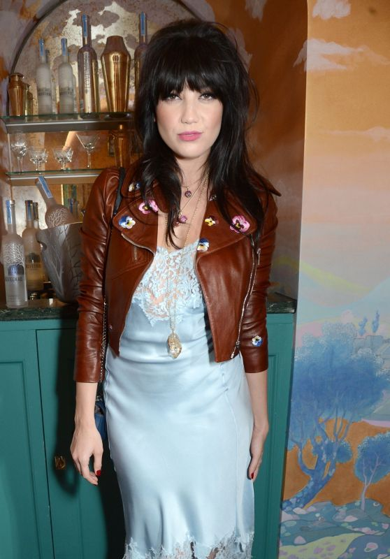 Daisy Lowe at London Fashion Week - Love & Burberry After Party 2/20/ 2017 in Venusrox Jewellery