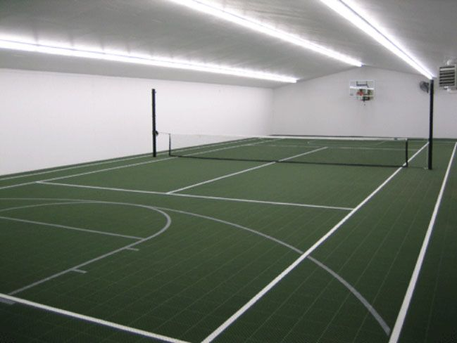 27 best indoor tennis court ideas images on pinterest for Design indoor basketball court