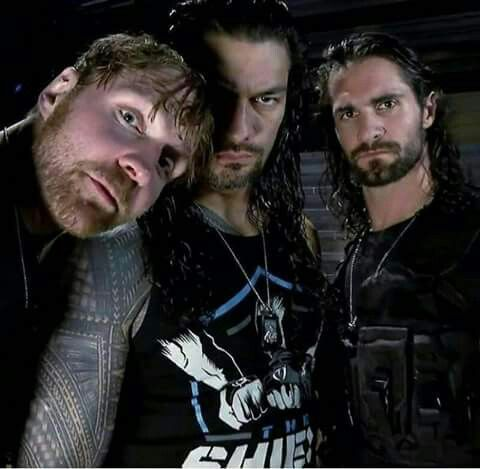 Dean Ambrose, Roman Reigns and Seth Rollins: The Shield.