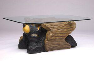 Big Sky Carvers Bear Coffee Table