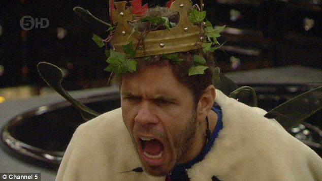 Insults: Perez Hilton is slammed by Celebrity Big Brother's Katie Hopkins on Thursday night's show