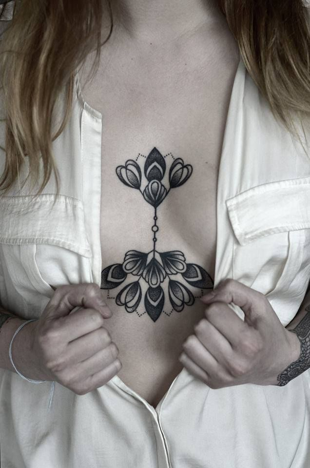 by facebook.com/kamilczapiga I like this much more than the traditional chest piece