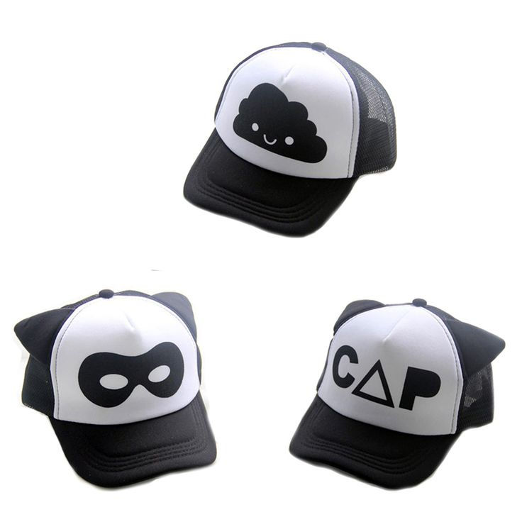kids hats letter print fashion cartoon boys girls cap new brand summer children baseball caps cute toddler sun hat wholesale for sale in bulk canada