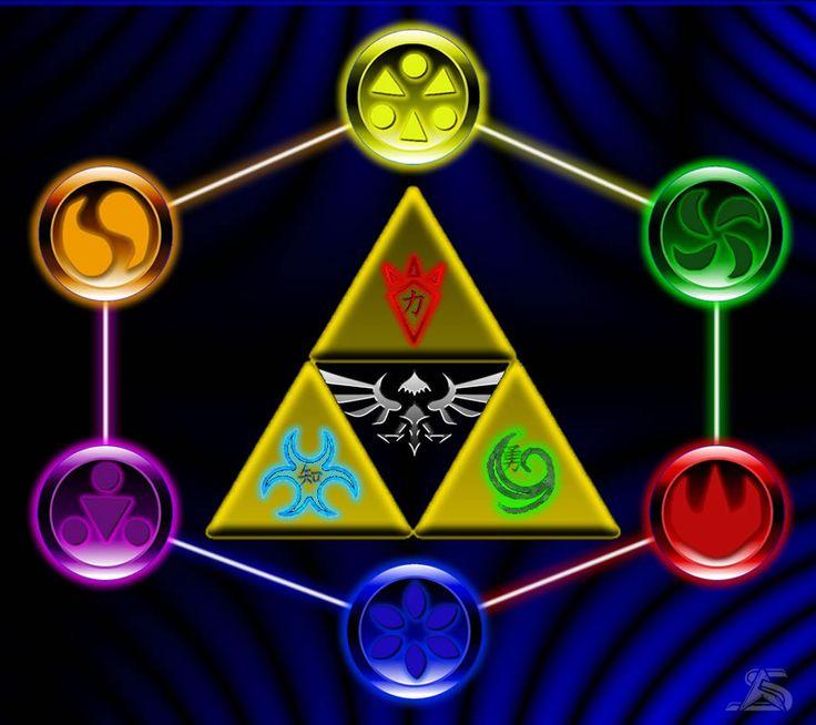 legend of zelda ocarina of time symbols Google Search