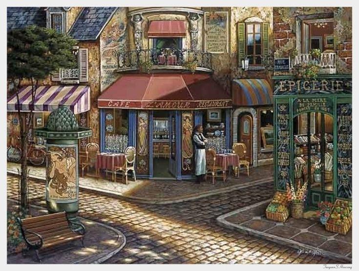 John P. O'Brien ~ Café L'Amour