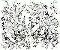 Раскраска Феи - скачать и распечатать раскраску. Раскраска Раскраска феи Динь-Динь, раскраска феи Иридесса, раскраска феи Фауна, раскраска феи Серебрянка, раскраска феи Розетта