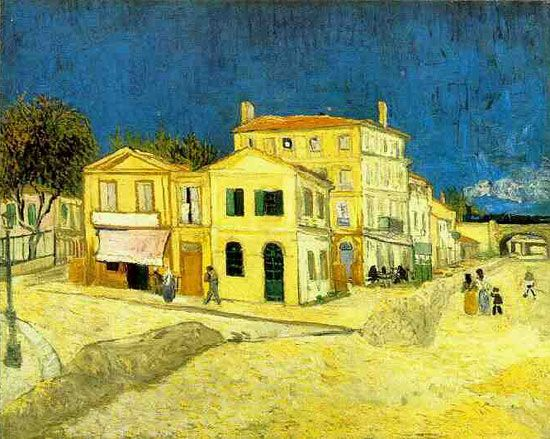 van Gogh: The Yellow House  Google Image Result for http://www.artnewsblog.com/famous-paintings/the-yellow-house/the-yellow-house.jpg