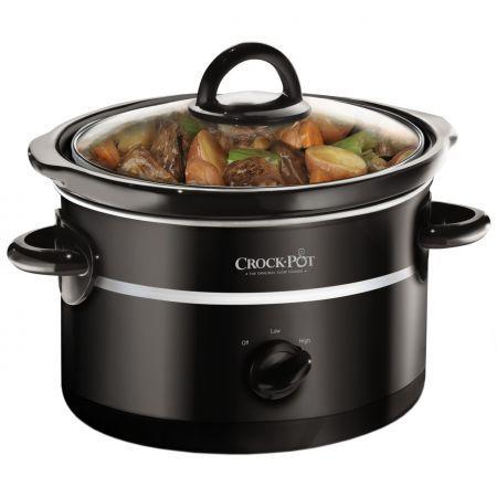 Cumpara Slow cooker Crock-Pot SCCPQK5025B-050, 2.4 l, 2 Setari gatit, Vas de ceramica detasabil, Negru online de la eMAG la pret avantajos. Livrare Rapida! Drept de retur in 10-30 de zile.