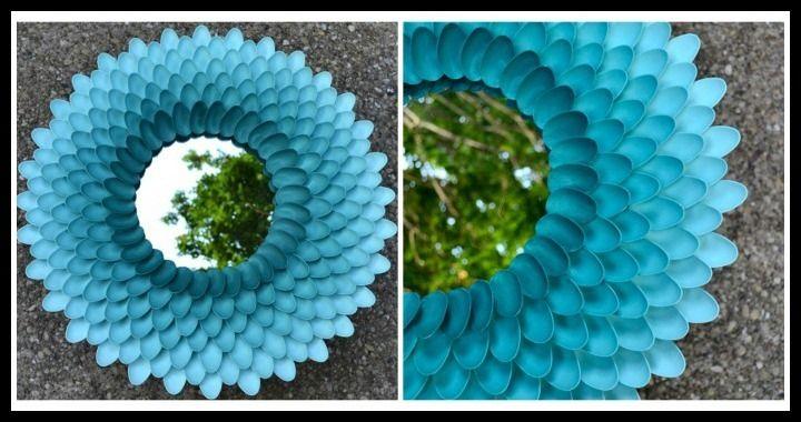 Chrysanthemum Spoon Mirror Tutorial