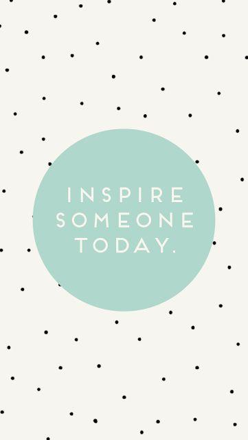 Inspirar a Alguien Hoy