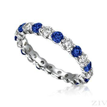 Sapphire And Diamond Ring Pinterest