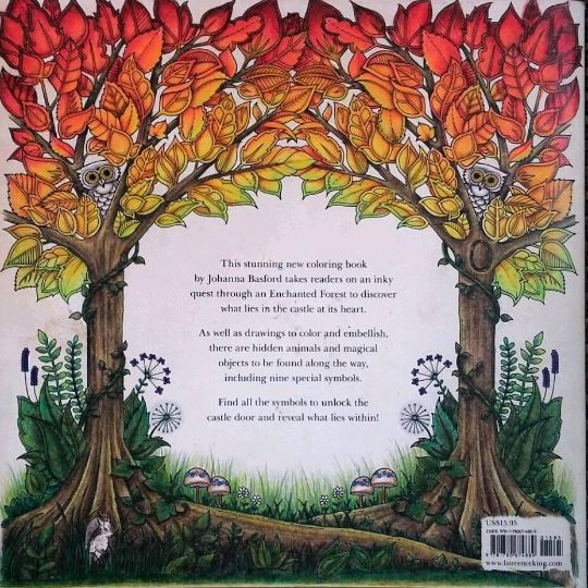 Take A Peek At This Great Artwork On Johanna Basfords Colouring Gallery Enchanted Forest