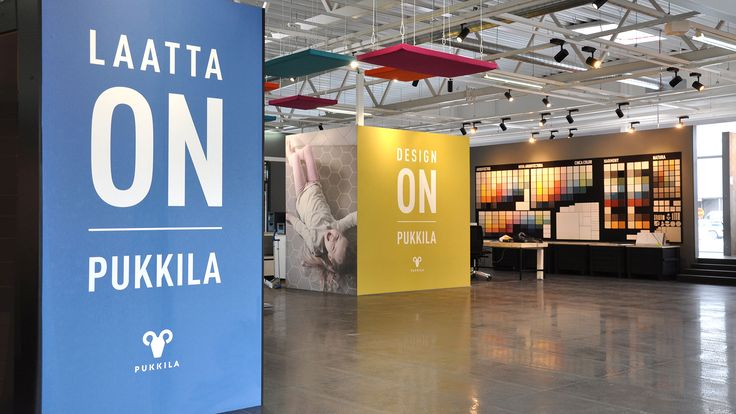 Visual identity and flagship store for Pukkila