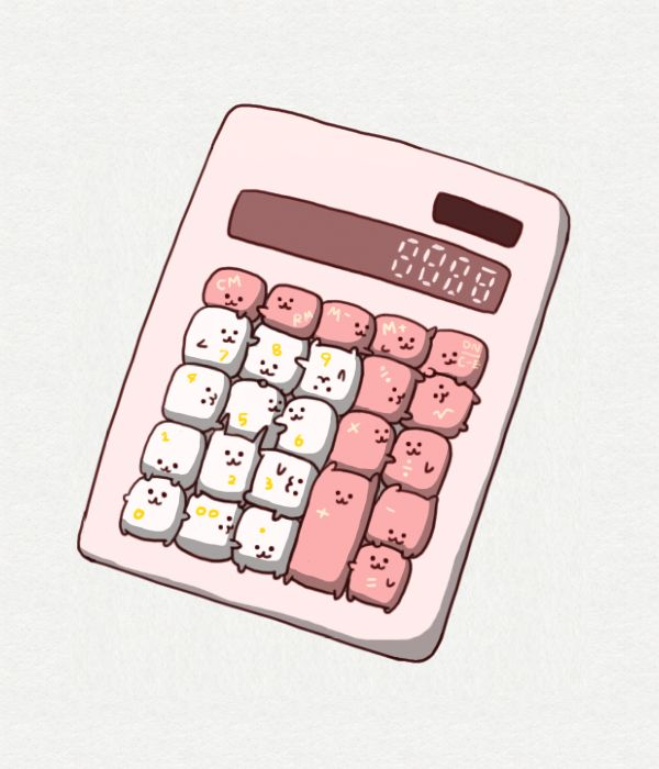Cutest calculater.. xD
