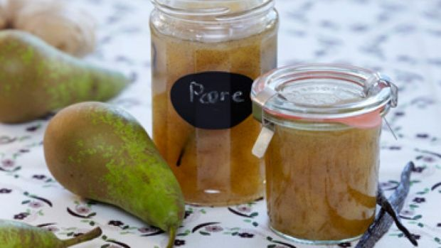 Opskrift på pæremarmelade med ingefær