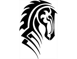 Image result for tribal horse tattoo