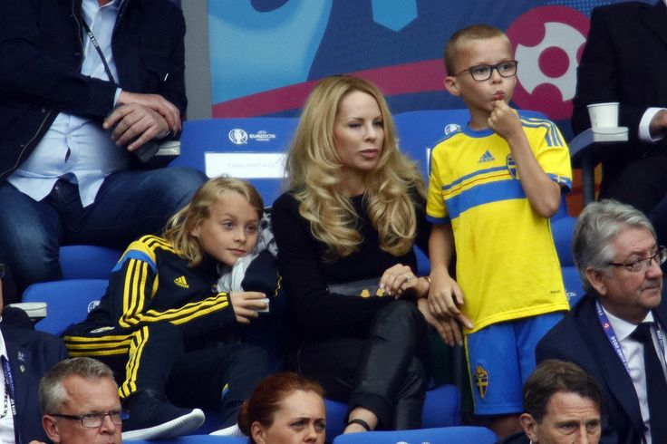 Zlatan Ibrahimovic's wife and kids : Helena, Maximilian & Vincent