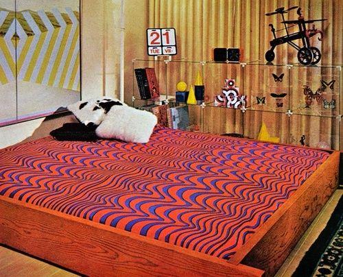 Bedroom design in better homes and gardens early 1970s for Garden design 1970s