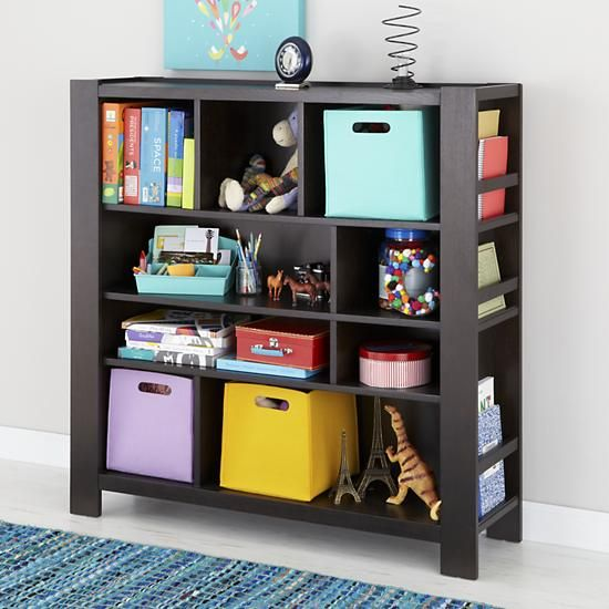 Marvelous Kids Bookcase: Kids Brown Compartment Cubby Bookcase In September 2012 From  The Land Of Nod