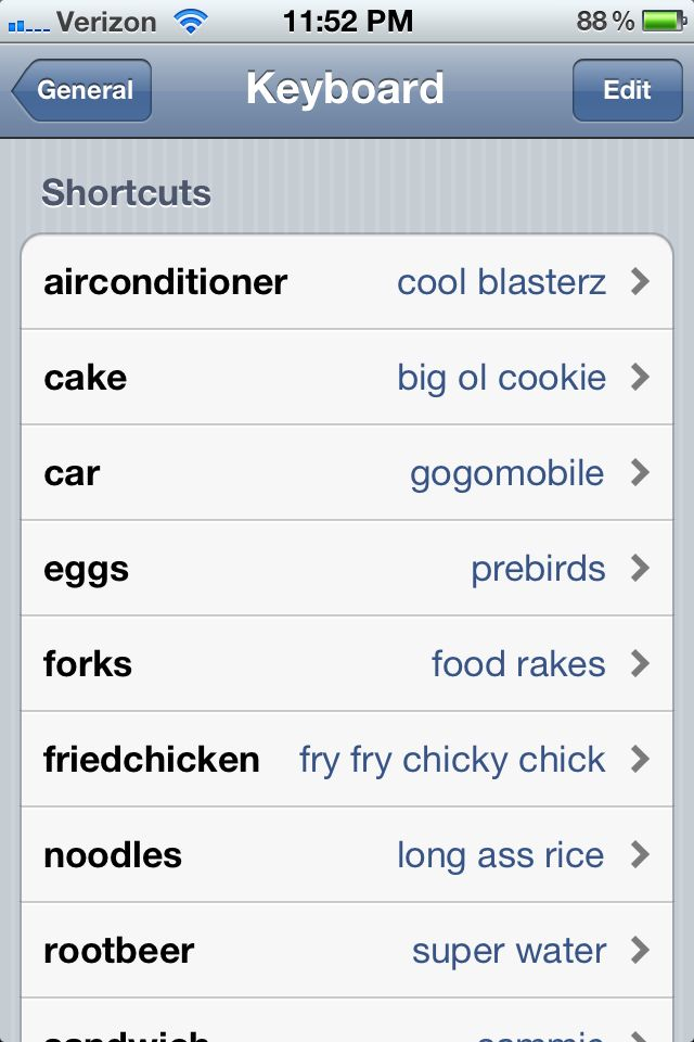 Prank your friend's iphone.. <3 parks and rec!! Too bad it doesn't show my favorite- chicky chicky parm parm!
