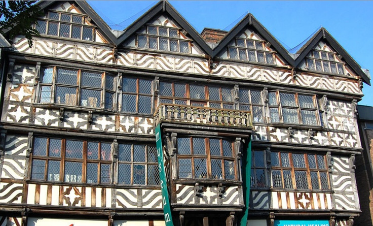 HistoricSiteFinder.com The Ancient High House is an Elizabethan town house located on the main street in Stafford. The house was constructed in 1594.