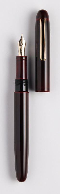 """Custom Nakaya Fountain Pen; mine has the phrase """"Hear the Harmony of Words"""" inscribed in Kanji on the barrel"""