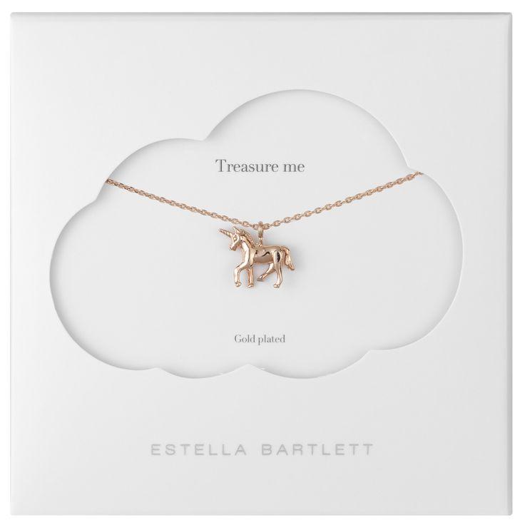 Estella Bartlett unicorn necklace