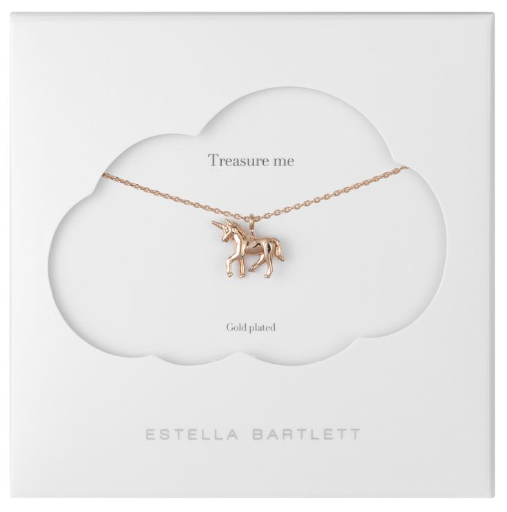 Estella Bartlett unicorn necklace
