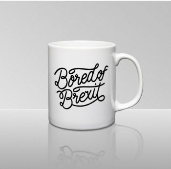 The White Tattoo Brexit Mug Gift From Boredofbrexit Co Uk